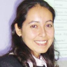 Dieses Bild zeigt  Maria Alejandra Espinoza