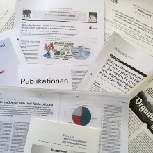 Publications of the chair