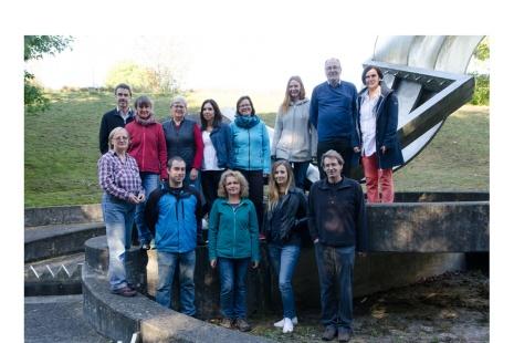 Gruppenbild der Lehrstuhlmitarbeiter