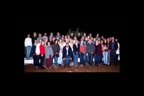 Group picture of the employees of the chair