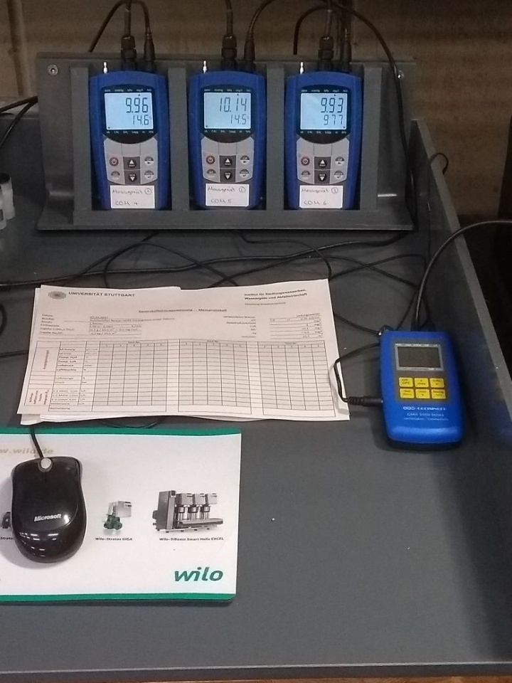 Sauerstoffmessungen - Messwertaufnehmer (c)