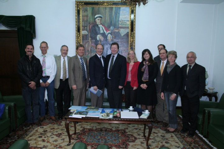 UFPR - visit by the rector (c)