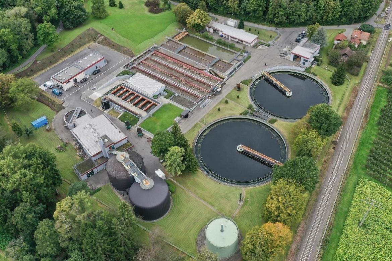 Bild der Kläranlage Eriskirch (c)  Abwasserverband Unteres Schussental