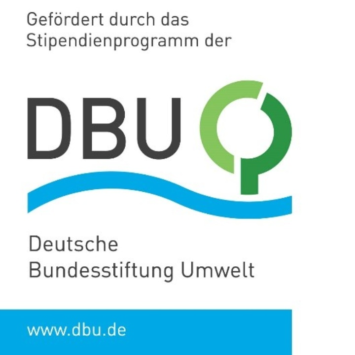 Funded by the sholarship program of the German Federal Environmental Foundation (c)